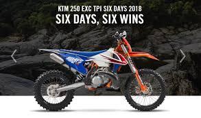 2018 ktm enduro. simple 2018 ktm 250 exc tpi six days wins 2018 for ktm enduro a