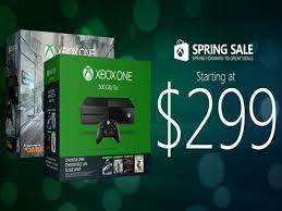 The Xbox One Costs 299 During Microsofts Spring Sale Digital