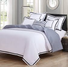 hotel luxury 3 piece duvet cover set