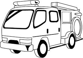 消防19 消防車 仕事の無料イラスト素材 イラストポップ