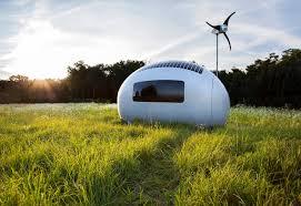 Off the grid modern prefab homes California Ecocapsule Prefab Web Urbanist Stunning Prefab Offgrid Homes with Prices