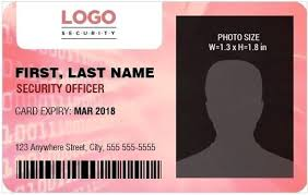 security guard badge template. Security Guard Badge Template Security Guard Officer Photo Id Badges
