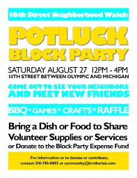 Neighborhood Party Invitation Wording Block Party Invite Wording Google Search Block Party Block