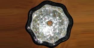 279 sink lotus design in white mop black shell