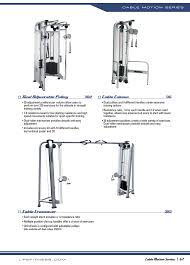 cable column dual adjule pulley cable crossover life fitness cable motion series 64 user manual page 4 8