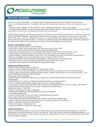 Network Engineer Resume Sample Job And Resume Template