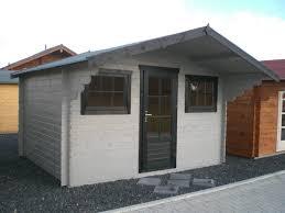 Gartenhaus Emily 3 80x3 00m 1 2m Vordach Mit 28mm Fu Boden