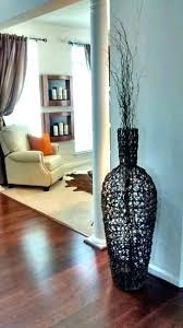 huge glass vase floor wonderful looking living room vases charming design large round h