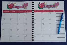 Teacher Monthly Planner Magdalene Project Org