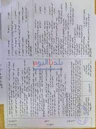 صور.. تسريب امتحانات الصف الأول الثانوي 2021 الترم الثاني