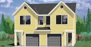 d 430 narrow lot duplex house plans 3 bedroom duplex house plans 2