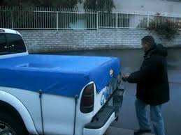 Waterproof Fitted Truck Bed Tarp Cover - YouTube