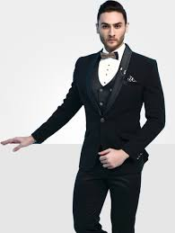 Designer Suits For Men In Chennai Mens Imported Designer Black Suit 41295