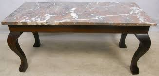 marble top mahogany coffee table sold 1355 p jpg