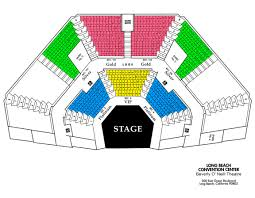 Long Beach Terrace Theater Seating Chart Seating Charts Musical Org