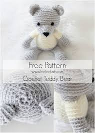 Easy Crochet Teddy Bear Pattern Unique Design