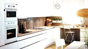Cuisine Ikea Blanche Et Bois