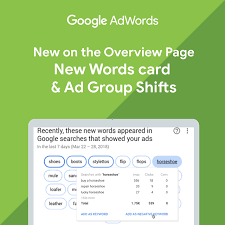 Google Add Words Google Adwords Overview Page Gets New Words Ad Group Shift