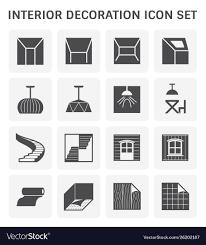 Icon For Interior Design Interior Decoration Icon