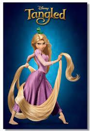 Tùy Chỉnh Vải Bố Trí Hình Rối Áp Phích Phim Rối Rapunzel Dán Tường Bức  Tranh Tường Anime Giấy Dán Tường Trẻ Em Trang Trí Phòng #0691 #|Miếng dán  tường