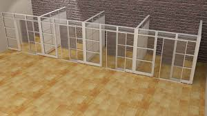 office cubicle walls. designer half glass office demountable walls room dividers cubicle panels modular cubicles 9u0027lx9 w