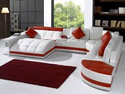 Living Room With Red Furniture Sofa Amazing Red Sofa Living Room Design With Sectional Black