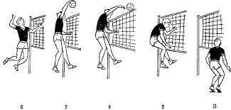 Схемы ударов в волейболе удар волейболе реферат