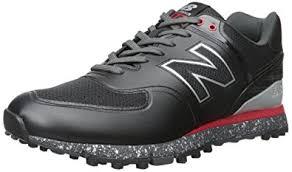 new balance golf shoes. new balance men\u0027s nbg574b golf shoe, black/red, shoes
