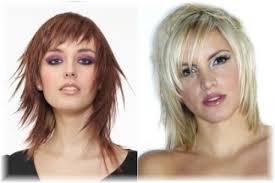 ženské Odstupňované účesy Přizpůsobení Podle Typu Obličeje