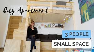 furniture for very small spaces. Small Space Optimized City Apartment   With Baby Nursery, Walk In \u0026 Custom Build Furniture For Very Spaces