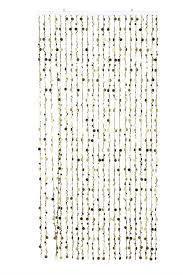 gold beaded curtain champagne bubbles 10 feet high
