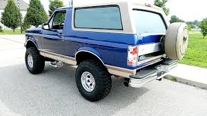 full size bronco 1996 ford bronco presented as lot f74 at dallas tx ford bronco