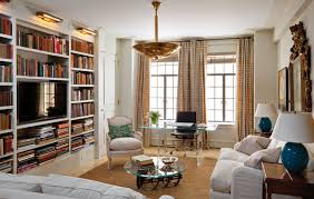 Agreeable Art Deco Apartment Library Master