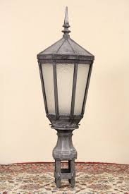 new york city salvage 1920 s antique street light lamp or lantern