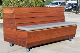 planter box bench seat w