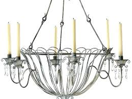 luxury candle chandelier non electric design awesome hanging pendant outdoor best home idea pulley rectangular pillar