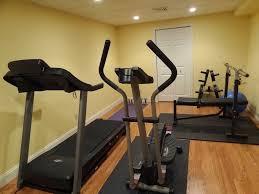 Interior:Modern Basement Home Gym Design Idea Modern Minimalist Basement Gym  Design With Wooden Flooring