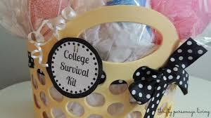 diy graduation gift college survival kit