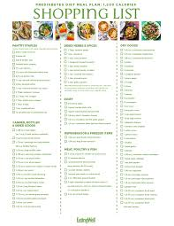 Printable Diabetic Meal Plan Chart Diabetic Menut Plans Meal Plan South Indian Recipes Chart