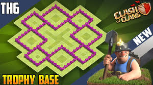 Clash Of Clans Th6 Base Design New Supreme Th6 Trophy Base 2018 Coc Best Town Hall 6 Th6 Trophy Base Design Clash Of Clans