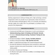 Ssis Sample Resume Ideas Collection With Sample Resume Unique Resume Gorgeous Teradata Etl Developer Resume