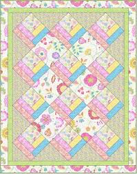 Best 25+ Free baby quilt patterns ideas on Pinterest | Baby quilt ... & Download Free Pattern Happy Day by Windham Fabrics. Free Sewing and quilting  patterns, tips Adamdwight.com
