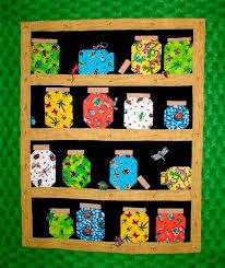 55 best Jar quilts images on Pinterest | Quilt block patterns ... & Bug jar quilt - my grandkids would love this. Adamdwight.com