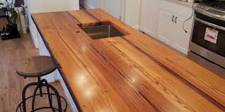 The Process Involved in Building Reclaimed Wood Countertops
