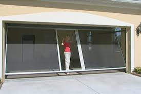 retractable garage door screensGarage Appealing garage door screens ideas Overhead Door Screen