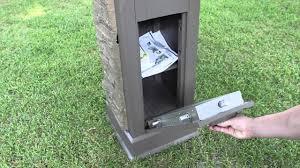 locking residential mailboxes. Postal Vault Secure Locking Mailbox Locking Residential Mailboxes N