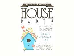 Birthday Party Invitation Template Word Free Birthday Party Invitation Template Word Free Housewarming Invites