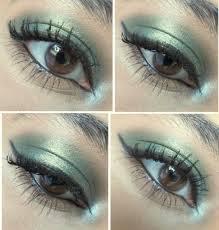 makeup geek typhoon duochrome eyeshadow pan eye makeup