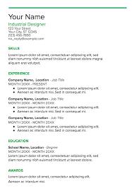 Google Doc Resume Template Modern Google Doc Resume Templates