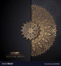Mandala Design Background Luxury Ornamental Mandala Design Background In